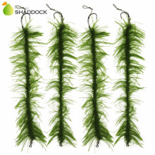 10pcs/set Weed Carp Fishing Hair Rigs Braided Thread 8245 Barbless Curve Fishing Hook Carp Rigs Carp Fishing Accessories(China)