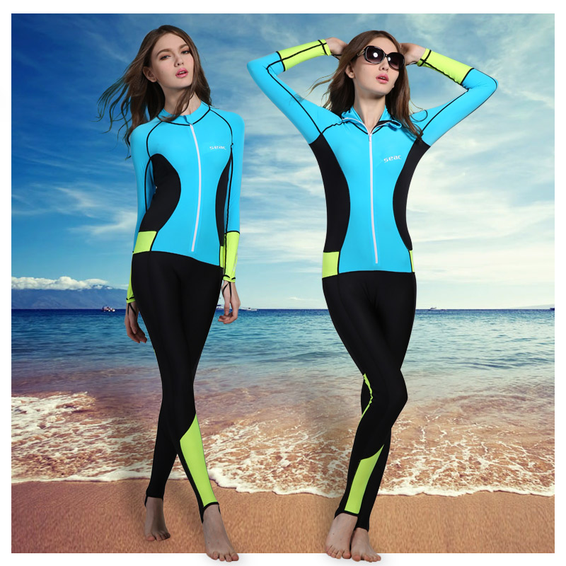 Lycra Wetsuit Stinger Wet Suits Diving Skin Men Or Women One-piece long Sleeve Jump Suit Swimsuit Swimwear Beach Clothes<br><br>Aliexpress