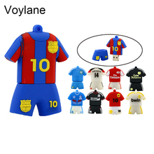 Voylane usb flash drive football jerseys meissi U Disk 8GB 16GB 32GB usb 2.0 flash drive memory stick pen drive pendrive
