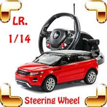 New Year Gift 1/14 Roadster RC Big High Speed Truck Car Steering Wheel Remote Control Car Large Vehicle Drift Large Toys(China)