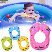 Baby kid swim arm ring Double Independent Airbag Inflatable cartoon Swimming Ring For Baby Best Swimming Pool Accessories(China)