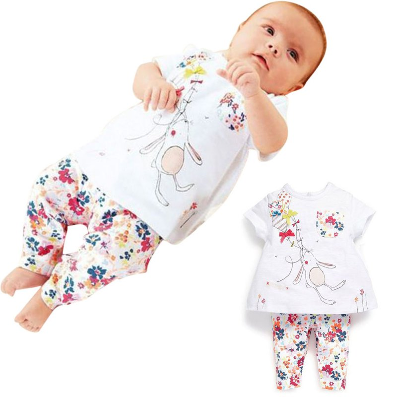 2Pcs Vaenait Baby Toddler Kids Boy Girls Clothes Sleepwear Pajama Set Bunny<br><br>Aliexpress