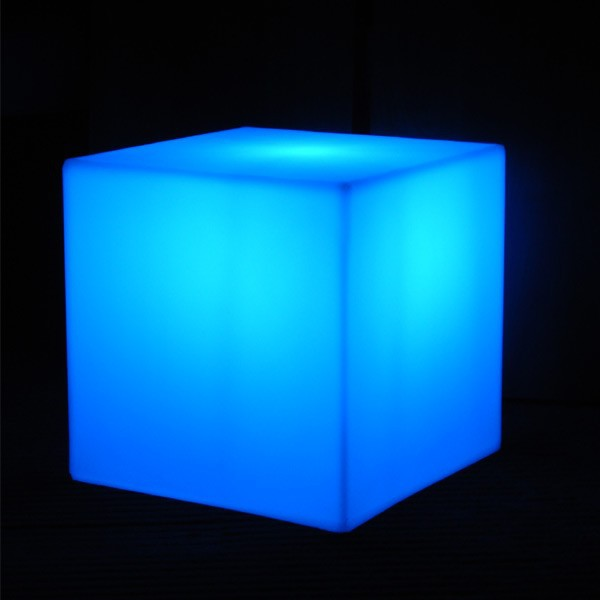 D10,D13,D15,D20cm LED Decorative lighting led cube Stool 16 color changing lighting for event party decoration free shipping 1pc<br>
