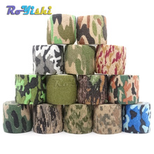 1 Roll U Pick 4.5m*5cm Waterproof Outdoor Camo Hiking Camping Hunting Camouflage Stealth Tape Wraps
