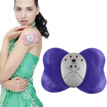 Electronica Slimming Butterfly Body Muscle Massager Body Massager Health Care for Men Lady Girl - Color Assorted Free Shipping(China)