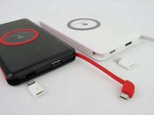 8000mah powerbank USB Qi Wireless Charger Power Bank USB Rechargeable Battery Powerbank iphone7 7plus 6s samsung S8