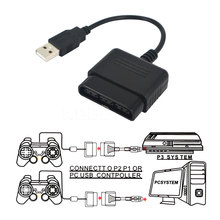 Best Price High Quality 1pc USB Adapter Converter Cable For Game Controller For PS2 to For PS3 PC Video Game Accessories