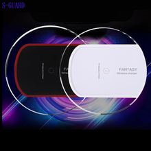 Buy S-GUARD Qi Original Wireless Charger Charging Pad SAMSUNG S8 S6 S6edge S6 Edge+ Plus S7 S7Edge Note5 Iphone X iphone 8 8plus for $4.90 in AliExpress store