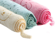 1 Pc Baby Kids Infant Soft Newborn Bath Towel Washcloth Bathing Feeding Wipe Cloth