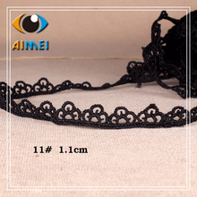 Special manufacturers, 10 black polyester, water-soluble lace jewelry, decorative accessories, lace, clothing accessories