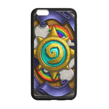 Hearthstone t Logo 2 custom hard plastic mobile cell phone bags case cover for iphone 4 4s 5 5s 5c 6 plus
