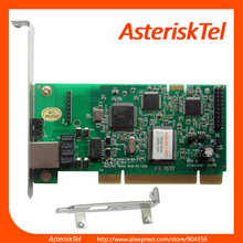TE122P - 1 port T1/E1 card,digital card ISDN PRI PCI card, Asterisk Card te110p for business voip telephone system(China)