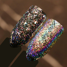 BORN PRETTY 1 Box 0.2g Galaxy Holographic Flakes Bling Laser Nail Sequins Holo Powder Glitter Paillette Nail Art Glitter