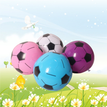 4 pieces/set 25cm Inflatable Toy Children Inflatable Soccer Sport Pool Water Toy Inflatable Football For Kids Gift Blow Up Toy