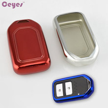 Buy Car-Styling Auto TPU Protection Cover Car Remote Case Honda 2016 2017 CRV Pilot Accord Civic Fit Odyssey Elision Car Styling for $8.85 in AliExpress store