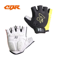 CBR Cycling Gloves Breathable Mens Women's Summer Sports Wear Bike Gloves Bicycle Cycle Gel Pad Short Half Finger Gloves