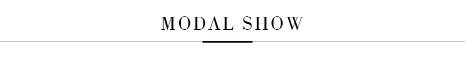 MODAL SHOW