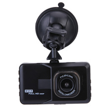 New Original 3.0 inch Car DVR Camera Dashcam Full HD 1080P Video Registrator Recorder Black DVR G-sensor Night Vision Dash Cam