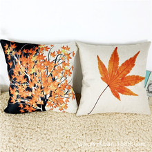 Canada Style Maple Leaf pattern Sofa Bed Home Decoration Festival decorative pillows Case Cushion Cover quality first