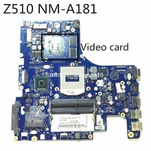 MLLSE original For Lenovo Z510 Laptop motherboard AILZA NM-181 Mainboard with graphics card Fully Tested Free shipping(China)