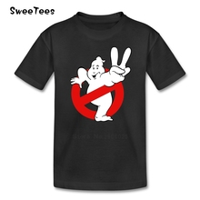 Ghostbusters T Shirt Kid 2017 T-shirt 100% Cotton Crew Neck Baby Tshirt Children Infant Toddler Teeshirt For Boy Girl