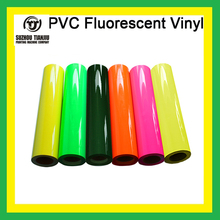 "TJ high-quality Heat transfer vinyl,PVC fluorescent vinyl,pvc vinyl W20"" one meter sales"