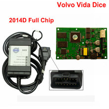 Professional Diagnosis For Volvo Vida Dice 2014D Car Diagnostic Tool Dice Pro Full Chip Green Board  For VOLVO VIda Dice