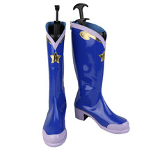 Love Live! Cosplay Shoes Sonoda Umi Blue Boot Shoes Halloween Party For Women Girls
