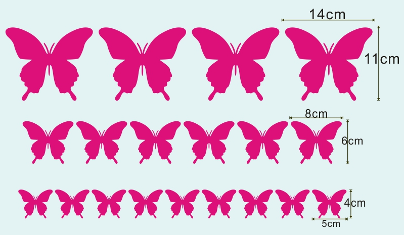 HTB1lKQDqHsTMeJjSszgq6ycpFXam - Nice Butterfly Wall Stickers
