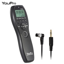YouPro YP-880 DC0 LCD Display Camera Wired Shutter Release Timer Remote Control for Nikon Fujifilm Kodak DSLR Cameras