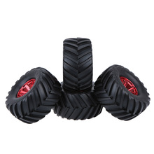 4Pcs/Set 1/10 Tire Tyres for Traxxas Tamiya HPI Kyosho RC Model Monster Truck Tyres(China)