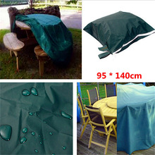 New Durable breathable indoor Outdoor Furniture Waterproof Cover Patio Dining Coffee Table Chair Shelter 95*140cm