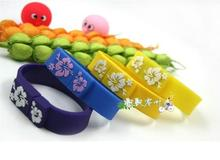 Hot sale Real capacity pendrives wrist band usb flash drive 4GB 8GB 16GB 32GB 64GB USB 2.0 memory stick pendrive us disk S894(China)