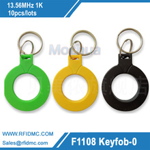 Buy 10pcs RFID keytags I3.56 MHz rfid key fobs keychains NFC tags ISO14443A MF Classic 1k nfc access control keycard token for $6.99 in AliExpress store