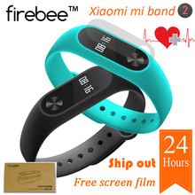Original Xiaomi Mi Band 2 Smart Fitness Bracelet watch Wristband Miband OLED Touchpad Sleep Monitor Heart Rate Mi Band2(China)