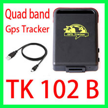 Quad band Personal Gps tracker tk102B Vehicle GSM GPS GPRS Trackeing devices Anti-loss system for the elderly Car Burglar Alarm(China)