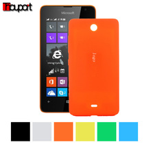 For Microsoft Lumia 430 Protector PC cases Battery cover Replace Original back cover Candy color Battery case For Microsoft 430