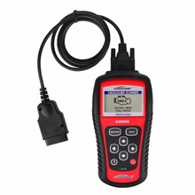HOT! KONNWEI KW808 Universal Car OBDII EOBD Code Reader Scanner OBD2 Diagnosis Scan Tool OBD 2 II PK Maxiscan MS509 ODB2 Scaner(China)