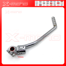 16mm Kick Start Starter Lever For Zongshen Lifan Loncin YX CB/CG 200 250cc Pit Dirt Bike Motocross Motorcycle(China)
