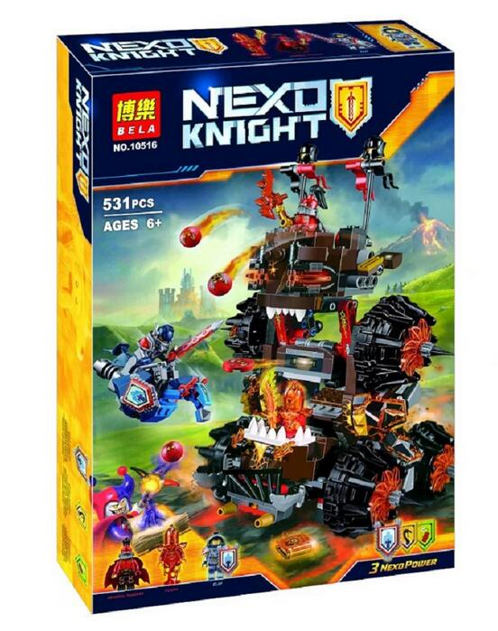 BLEA 10518 Nexus Knights General Magmars Siege Machine Of Doom Building Blocks  Toy Compatible With Lepin 70321<br><br>Aliexpress