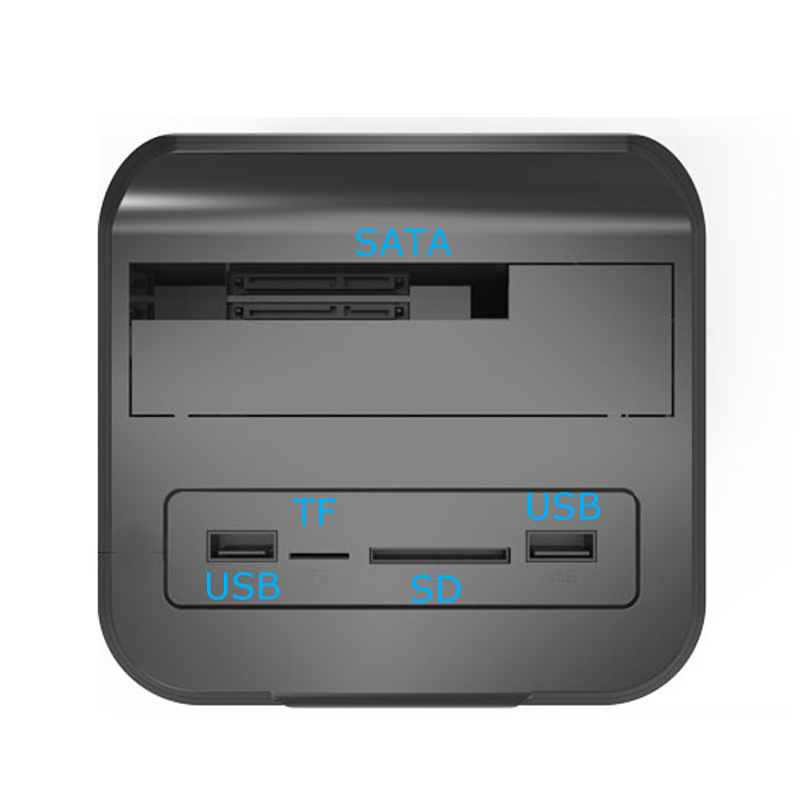 2.5 3.5 USB 3.0 to SATA HDD Docking Station with 300mbps wifi router function hdd box hard drive disk enclosure (10)