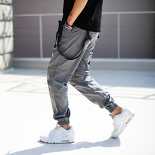 New 2017 Korean Men's Harem Pants Loose Style HIPHOP Mens Joggers Pants Fashion Boys Streetwear Army Green Casual Male Trousers