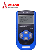 Best Selling Automotive Scanner Vgate VS450 For VW Audi Car Scanner ABS SRS Fault Code Reader Scanner for VAG Reset Tool(China)