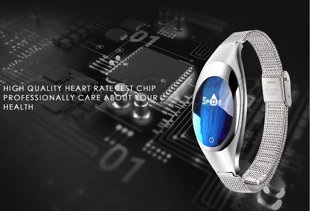 Smart Wristband Z18 Bluetooth Bracelet Blood Pressure Oxygen Heart Rate Monitor Waterproof Pedometer For iOS Android Women Men 4