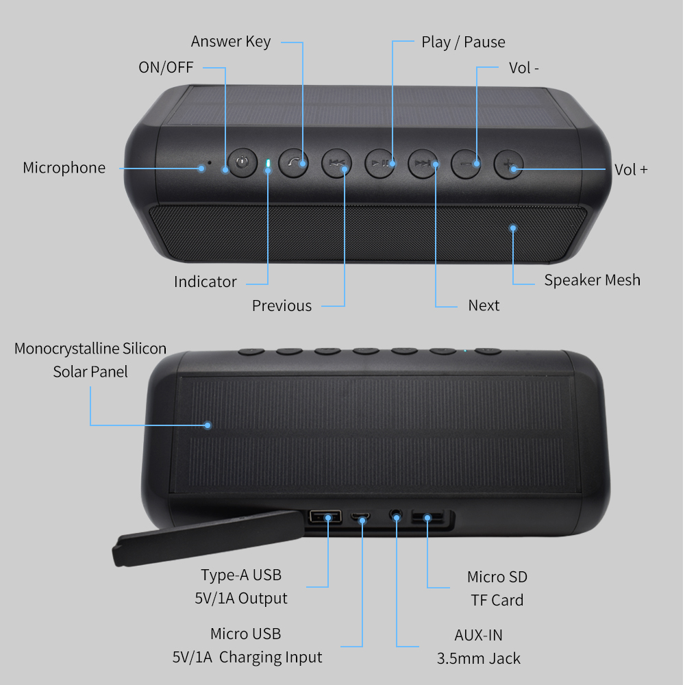 Bluetooth Speaker Waterproof 29