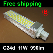 PF 0.9 g24 base led lamp corn bulb 11W 5050SMD1000lm