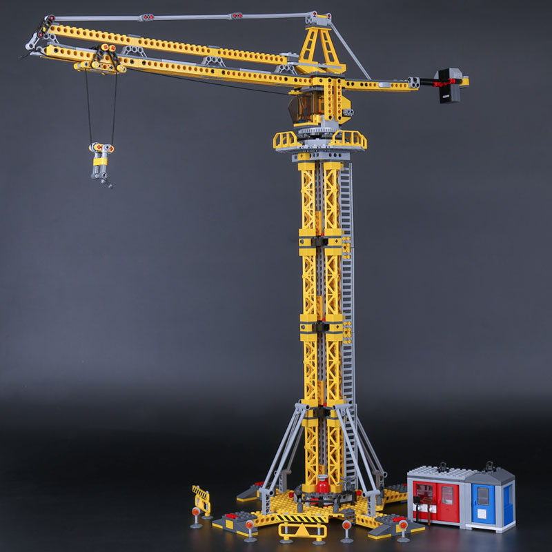 Lepin 02069 Genuine 778Pcs City Series The Building Crane Set 7905 Building Blocks Bricks Toys Children Christmas Birthday Gift<br>