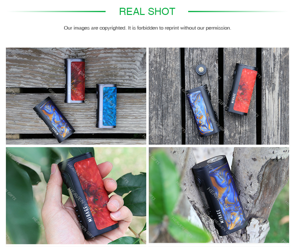 Lost Vape Mirage DNA75C TC Box MOD