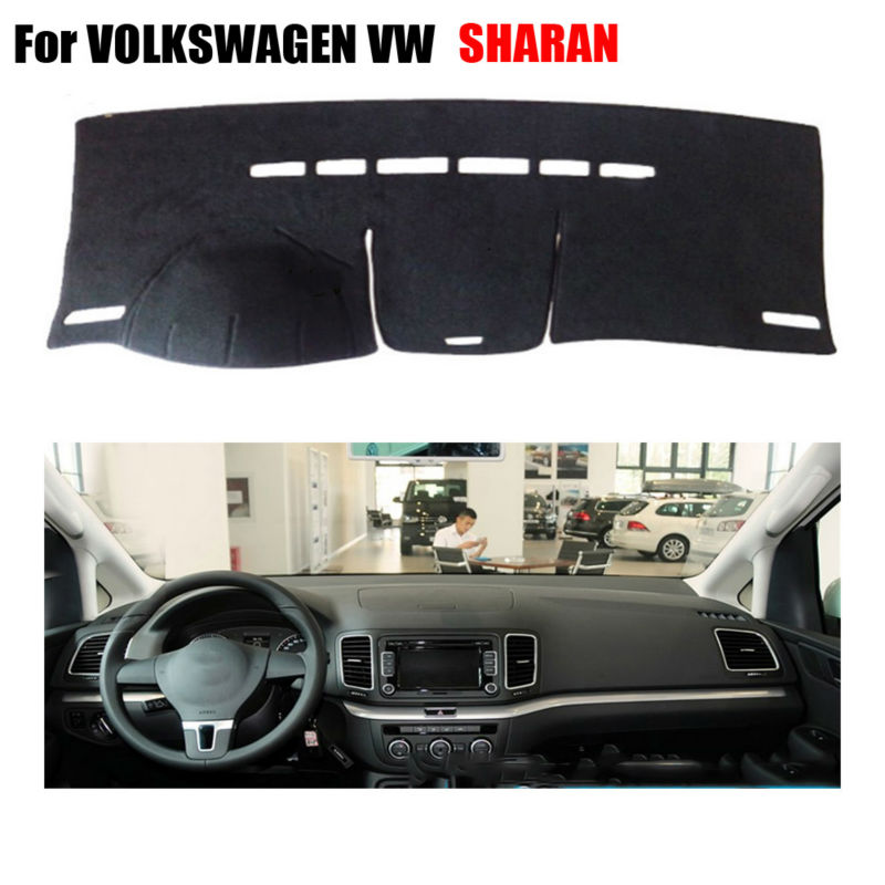 Car dashboard covers mat For VOLKSWAGEN VW SHARAN all the years left hand drives dashmat car Instrument platform accessories(China (Mainland))