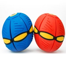UFO Ball Step Ball Vent Ball Frisbee Ball Deformation Outdoor Kids Dog Funny Toys Children's Gift